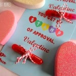 """Stamp of Approval"" Valentines – Free Printable!"