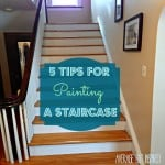 Five Tips for Painting a Staircase (With Before and After Photos!)