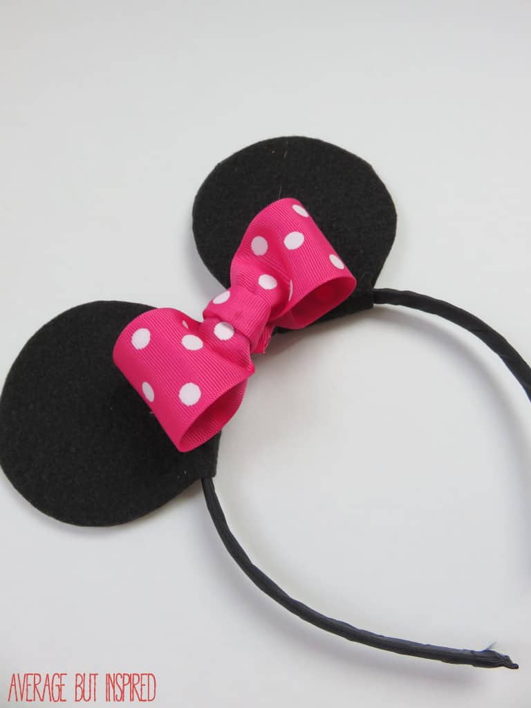 How To Make Your Own Mickey Or Minnie Mouse Ears
