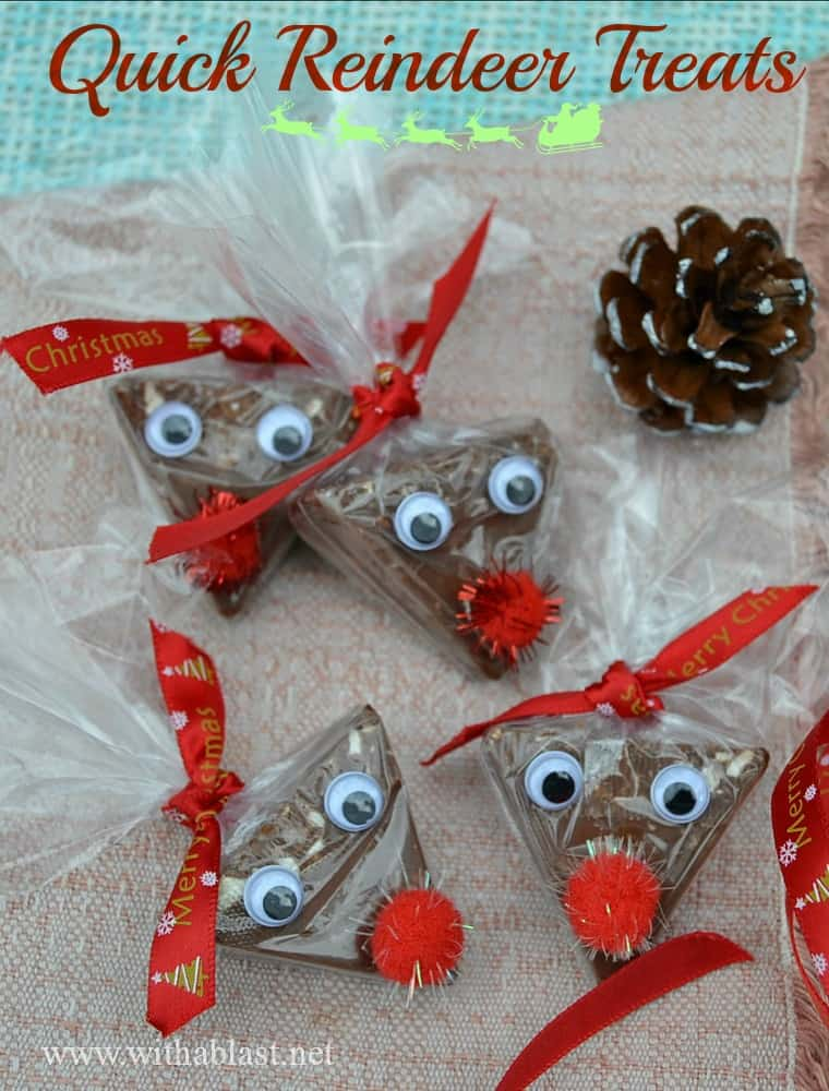 Quick Reindeer TreatsP