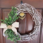 Average But Inspired shows you how to give a grapevine wreath a totally unique look with chalk paint!