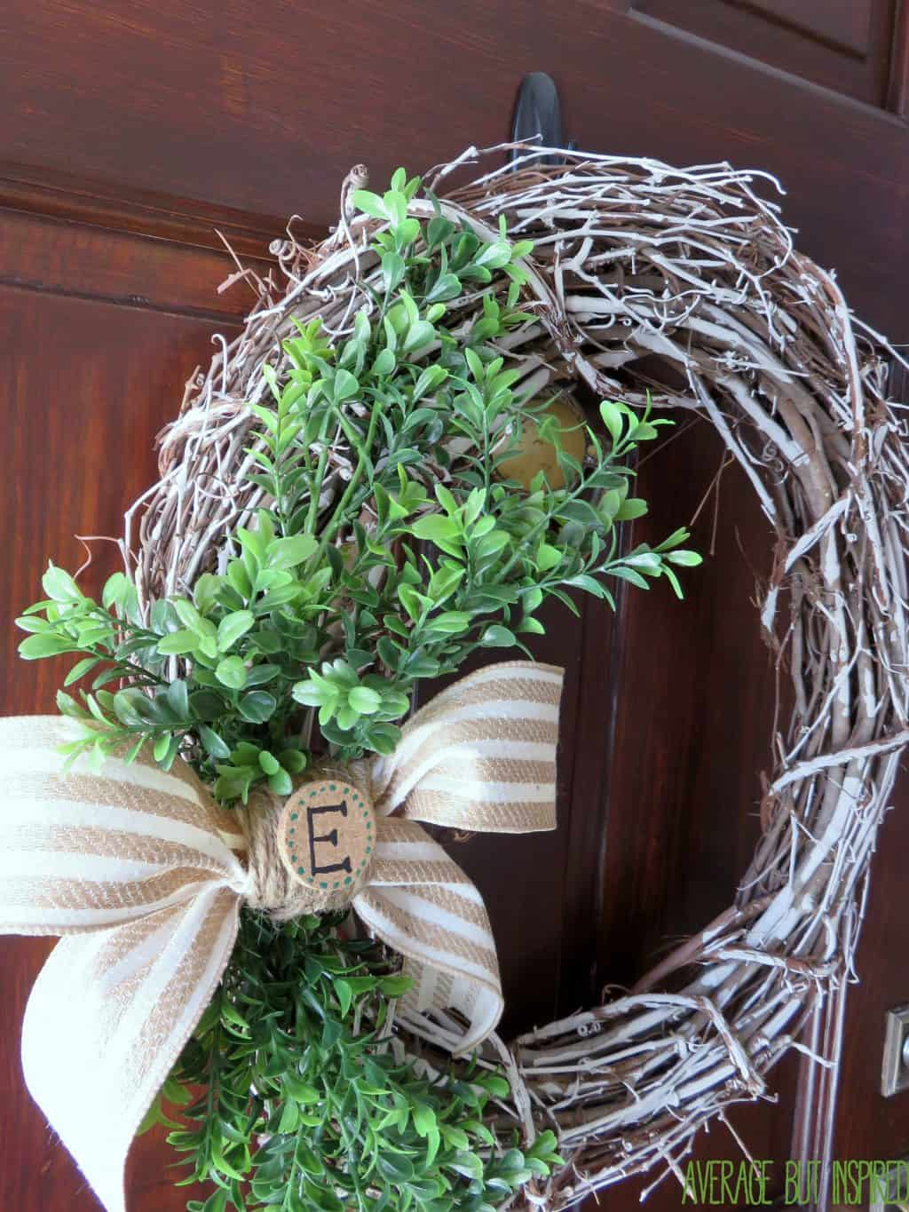 Designs Stand Out : Chalk painted grapevine wreath a for all seasons