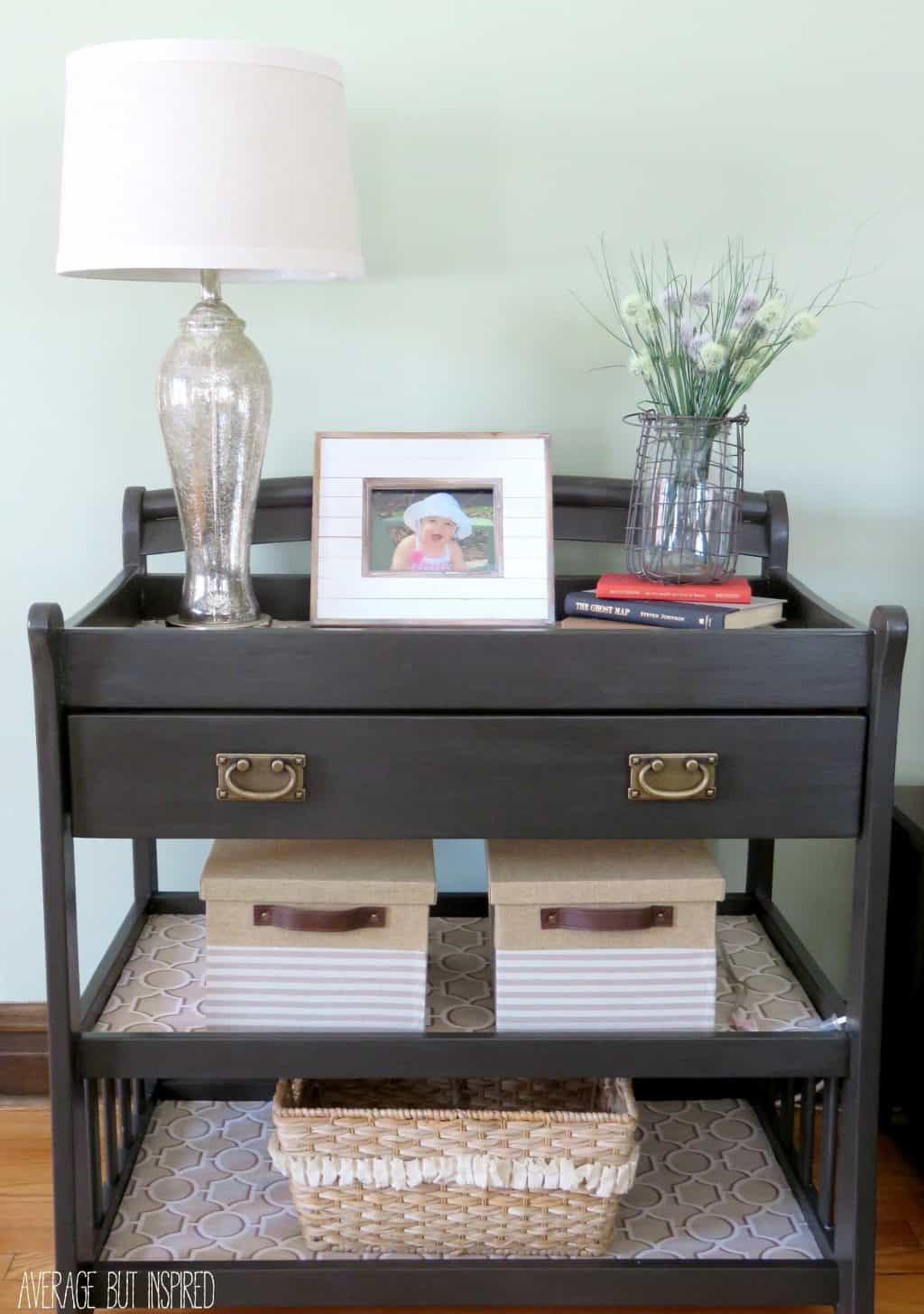 Old Coffee Table Makeovers A Changing Table Upcycle