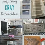In honor of Brain Tumor Awareness Month, these bloggers are sharing some AMAZING gray home decor ideas. #graymatters #gograyinmay