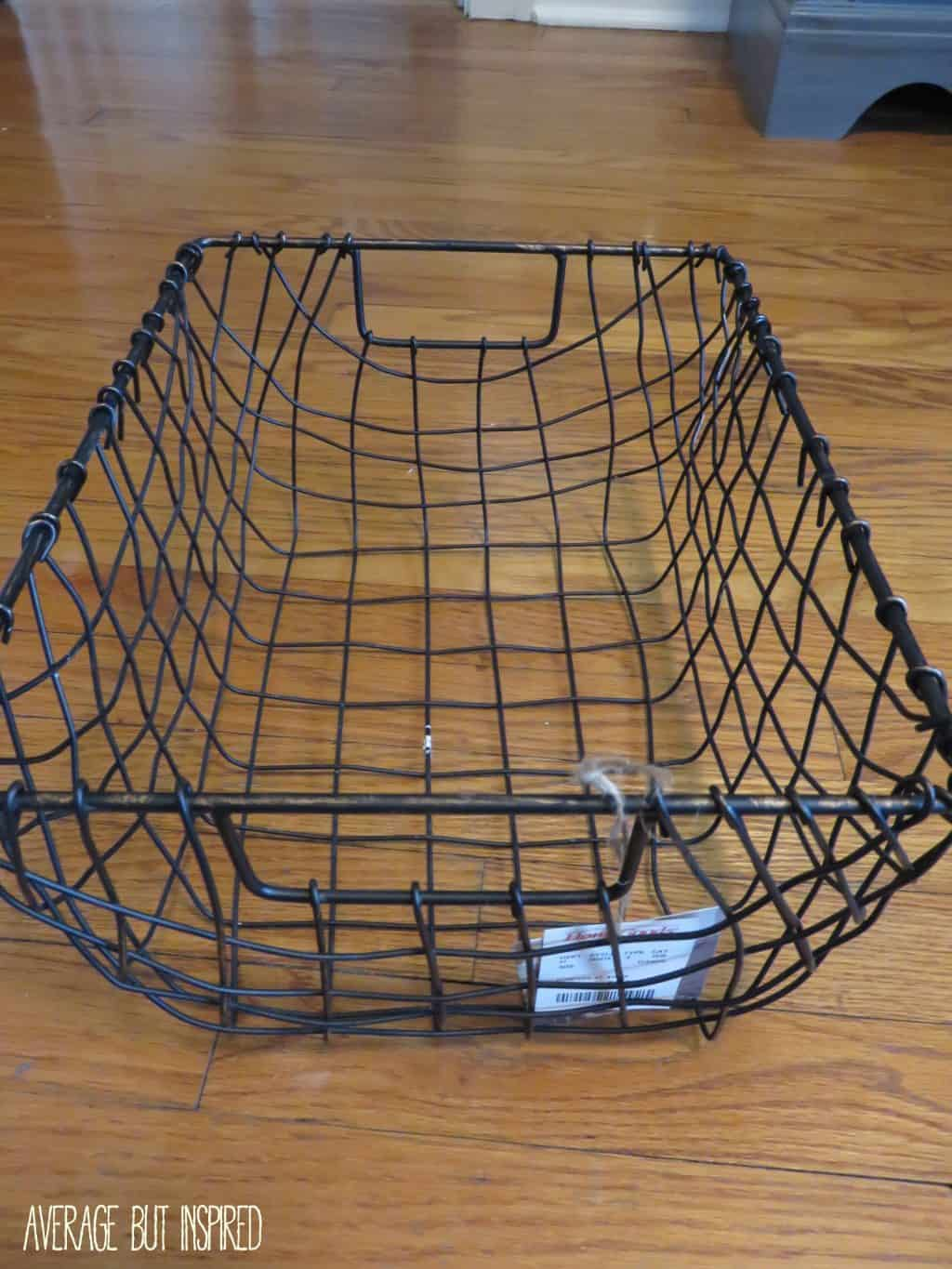 how to prevent wire baskets from scratching your surfaces. Black Bedroom Furniture Sets. Home Design Ideas