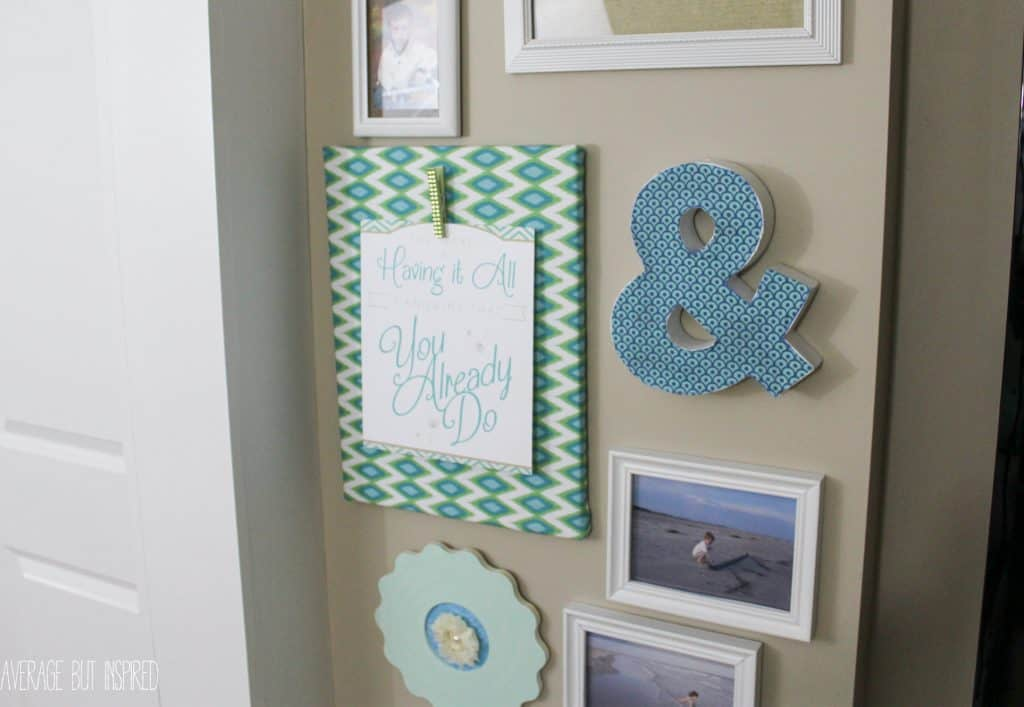 Gallery Wall Planner how to make a practically free gallery wall