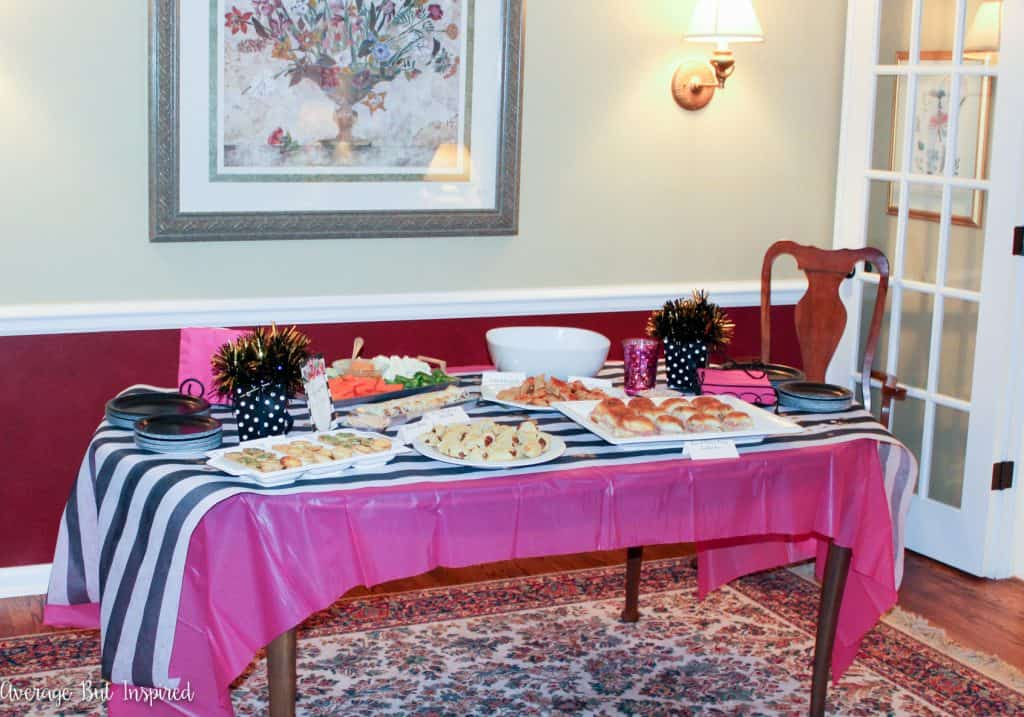 A Kate Spade Inspired Birthday Party