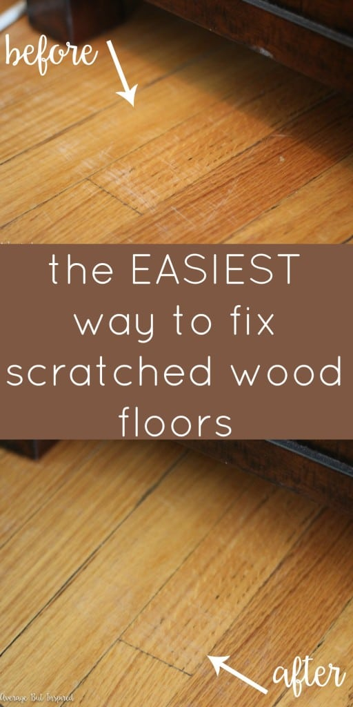 how to fix scratched hardwood floors in no time average but inspired. Black Bedroom Furniture Sets. Home Design Ideas