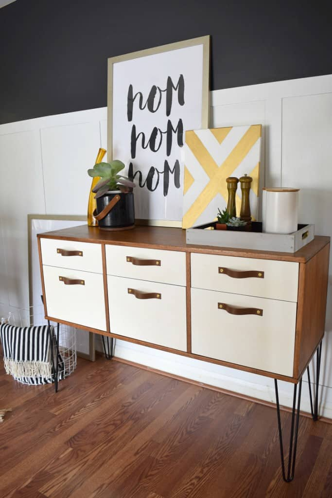 Dining-Room-Credenza-with-Hairpin-Legs