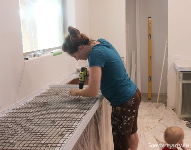 prepping-for-concrete-countertops