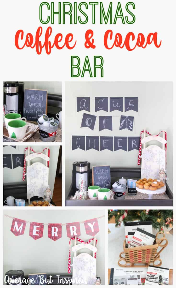A festive coffee and cocoa bar is the perfect addition to your Christmas morning traditions! Learn how to set up and decorate a coffee bar of your own in this post.